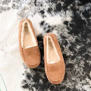 Ugg scallop loafer slippers